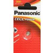 Panasonic SR41W knapcelle batteri