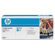 HP 307A/CE741A lasertoner, blå, 7300s