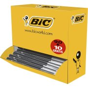 Bic M10 kuglepen value pack, medium, sort