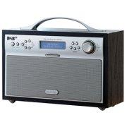 Scansonic DA-88 DAB+/FM-radio, sort