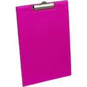 Bantex clipboard A4, pink