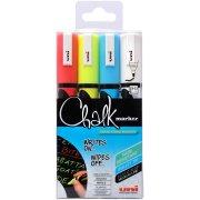 Uni Chalk Marker PWE-5M , 4 styk 2,5mm