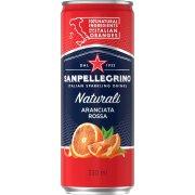San Pellegrino m/blodappelsin 0,33l inkl. pant