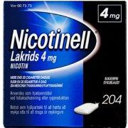 Nicotinell Lakrids Tyggegummi, 4 mg, 204 stk.