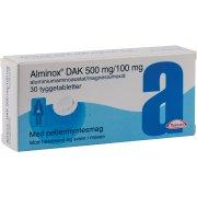 Alminox DAK Tyggetabletter, 20 stk.