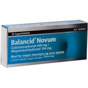 Balancid Novum Tyggetabletter, 30 stk.