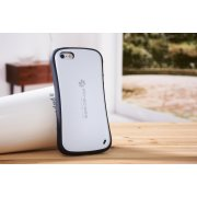 Miracase stilfuldt iPhone 5/5S/SE cover, hvid