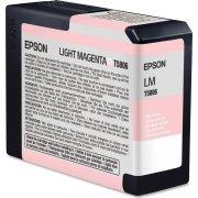 Epson T580B (C13T580B00) blækpatron, lys magenta