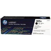 HP 305X/CE410XD lasertoner, sort, 2x4000s