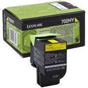 Lexmark 70C2HY0 lasertoner, gul, 3000s