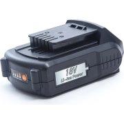 Puly batteri Li-Ion 18V, 1,3 amp