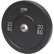 Titan Bumper Plate, 20 kg