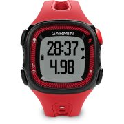 Garmin Forerunner 15 HR, rød/sort