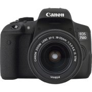 Canon EOS 750D kamera inkl. EF-S objektiv