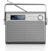 Philips AE5020 transportabel DAB-radio, sort