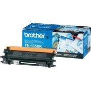 Brother TN135BK  lasertoner, sort, 5000s