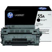 HP CE255A lasertoner, sort, 6000s