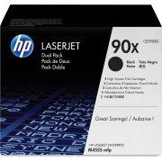 HP nr.90X/CE390XD lasertoner Dual-pack sort 24000s