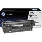 HP nr.12A/Q2612A lasertoner, sort, 2000s