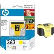 HP nr.363/C8773EE blækpatron, gul, 350s