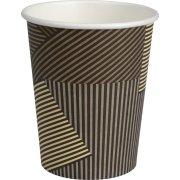 Kaffebæger 24 cl, pap, sort
