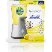 Dettol No-Touch dispenser m/Odeur citrus, silver