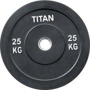 Titan Bumper Plate, 25 kg