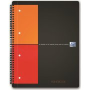 Oxford International FilingBook, A4+, kvadreret