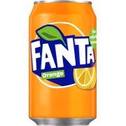 Fanta Orange 33 cl inkl. pant