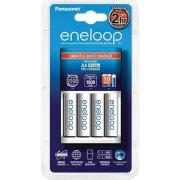 Panasonic Eneloop Oplader + 4xAA genop.batterier