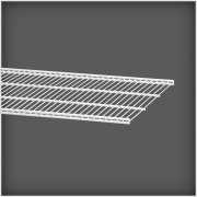 Elfa trådhylde 40, længde 1212 mm, hvid