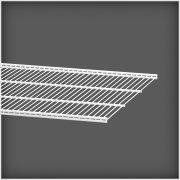 Elfa trådhylde 50, længde 1212 mm, hvid