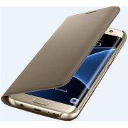 Samsung Flip Wallet til Galaxy S7 Edge, guld