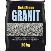 DekoStone Granit 20 kg, Grå