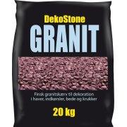 DekoStone Granit 20 kg, Rød