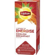 Lipton English Breakfast te, 25x2g