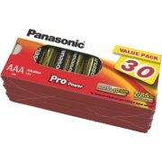 Panasonic str. AAA Pro Power Gold batteri, 30 stk
