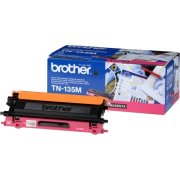 Brother TN135M  lasertoner, rød, 4000s