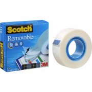 Scotch Magic 811 tape, aftagelig, 19mm x 33m