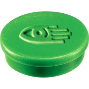 Legamaster magneter, 30 mm, grøn, 10 stk