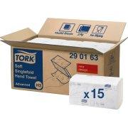 Tork H3 Advanced Håndklædeark, zig-zag foldet