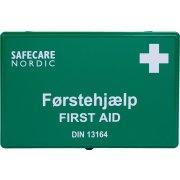 Ox-On førstehjælpskasse m. indhold - plast