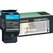 Lexmark 0C540H1CG lasertoner, blå, 2000s