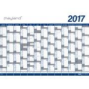 Mayland Kæmpekalender, 1x13 mdr., vinyl, rør