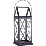 Aske Magnum lanterne, sort, 40 LED's