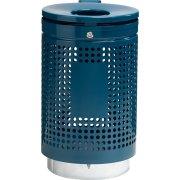 RMIG spand 836U i blå m/lås, varmgalvaniseret