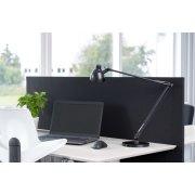Easy bordskærmvæg H65xB100 cm sort