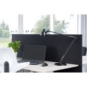 Easy bordskærmvæg H65xB120 cm sort