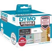 Dymo LabelWriter Durable etiketter str. 25 x 25 mm