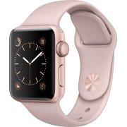 Apple Watch Series 1, 38mm, rosaguld, pink rem